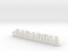 GARABINA_keychain_Lucky 3d printed