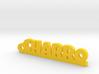 CHARRO_keychain_Lucky 3d printed