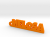 MELOSA_keychain_Lucky 3d printed