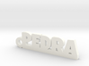 PEDRA_keychain_Lucky 3d printed
