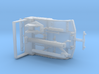 1/64th Medium Size Tow Truck Wrecker Body bed 3d printed
