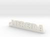 NEREIDA_keychain_Lucky 3d printed