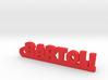 BARTOLI_keychain_Lucky 3d printed
