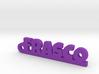 FRASCO_keychain_Lucky 3d printed