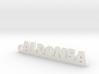 ALDONSA_keychain_Lucky 3d printed
