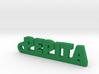 PEPITA_keychain_Lucky 3d printed