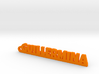 GUILLERMINA_keychain_Lucky 3d printed