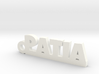 PATIA_keychain_Lucky 3d printed