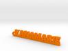 YANAMARIE_keychain_Lucky 3d printed