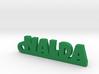 NALDA_keychain_Lucky 3d printed