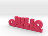 JULIO_keychain_Lucky 3d printed