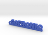 SOFRONIO_keychain_Lucky 3d printed