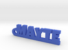 MAYTE_keychain_Lucky 3d printed