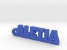 ALETIA_keychain_Lucky 3d printed