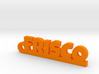 FRISCO_keychain_Lucky 3d printed
