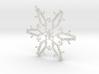 Joshua snowflake ornament 3d printed