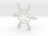 Liam snowflake ornament 3d printed