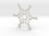 Mason snowflake ornament 3d printed