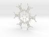 Noah snowflake ornament 3d printed