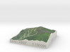 Whiteface Mtn., NY, USA, 1:100000 Explorer 3d printed
