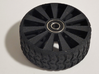 2 Inch Airless Tire for Use with 1/2 Inch Bearing 3d printed SHOWN WITH BEARING MCMASTER P/N 60355K861