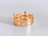the CROWN ring 3d printed
