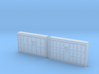 N Scale Bagage Lockers 3d printed