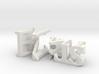 3dWordFlip: Kris/Matt 3d printed