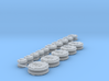Alien Swarm Cults icons #7 3d printed