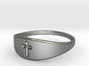 Cross ring A (US sizes 10 – 13) 3d printed