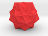 Five cubes inside a dodecahedron 3d printed