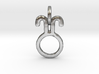 Ostara Glyph Charm 3d printed
