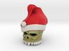 Santa Skull 3d printed