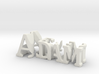3dWordFlip: Adam/Reyes 3d printed