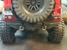 TRX-4, Rear Mounting Rack - Tire, Gas Cans, & Jack 3d printed
