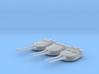 1/700 MKI* HMS Repulse Guns 1941 with Blast Bags 3d printed 1/700 MKI* HMS Repulse Guns 1941 with Blast Bags