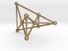 Desargues's Golden Configuration (male) 3d printed