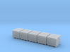 Euro Pallet with Concrete Blocks 3d printed