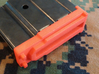Mini-14 5-round Mag Coupler (Gen2) 3d printed The pictures make the parts look a bit more orange than the true color