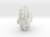 Divine Hand ring  3d printed