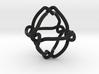 Octahedral knot (Circle) 3d printed
