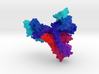 Bacterial Sodium Channel 3d printed