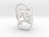 Knot 10₁₄₄ (Circle) 3d printed