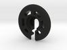 Traxxas GTR shock lower spring perch, -3mm offset 3d printed