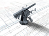 1/96 Single 2-pdr (4 cm/39) QF Mark VIII x1 3d printed 3d render showing product detail