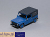 1/72 Citroen NAMCO Pony 3d printed Painted and detailed model