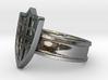 Shield Ring, Medieval 3d printed