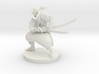 Elven Wild Fighter 3d printed