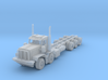 KW c500 twin steer and tri axle 1/87 3d printed