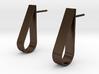 Water Droplet  Stud Earrings Set 3d printed